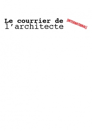 LE COURRIER DE L'ARCHITECTE